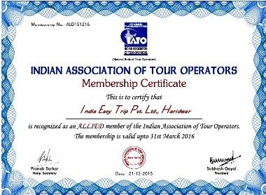 Indian Association of Tour Operators - Rishikesh Travel Agent