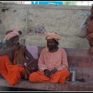 sadhus at rishikesh