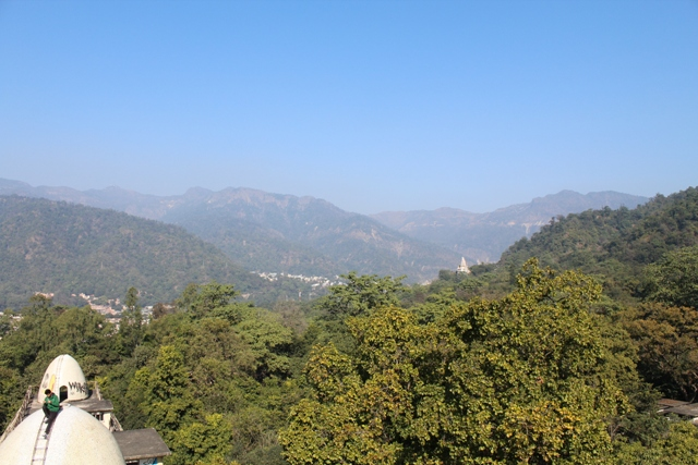 View from the top of Ashram