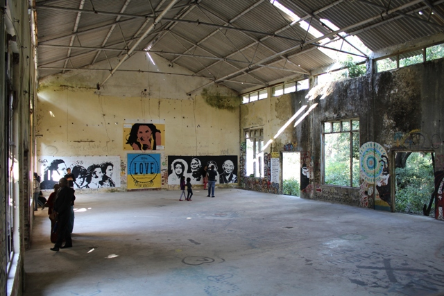 Yoga Meditation Hall - Beatles Ashram